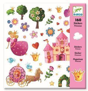 160 PEGATINAS PRINCESES