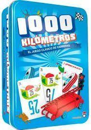 1000 KILOMETROS CAIXA METALICA