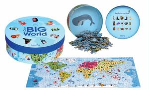 PUZZLE OUR BIG WORLD - 200 PCS