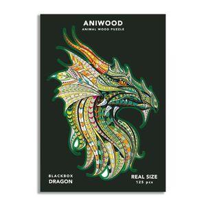ANIWOOD PUZZLE DRAC 125 PECES (M)