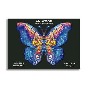 ANIWOOD PUZZLE PAPALLONA 150 PECES (M)