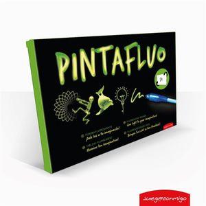 PINTAFLUO PIZARRA FLUORESCENTE A4