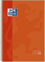LLIBRETA OXFORD A4 TD 80 FULLS - TARONJA FOSC
