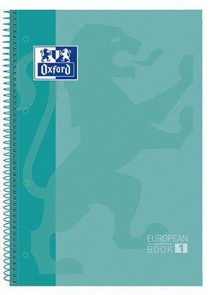 LLIBRETA OXFORD A4 TD 80 FULLS - TURQUESA