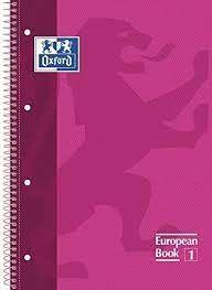 LLIBRETA OXFORD A4 TD 80 FULLS - ROSA FUCSIA