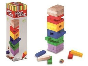 BLOCK & BLOCK (JENGA COLORS - CAYRO)