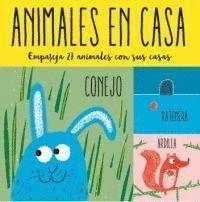 ANIMALES EN CASA (MEMORY)