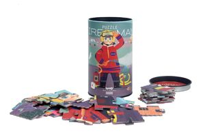 PUZZLE FIREMAN (TUBE)