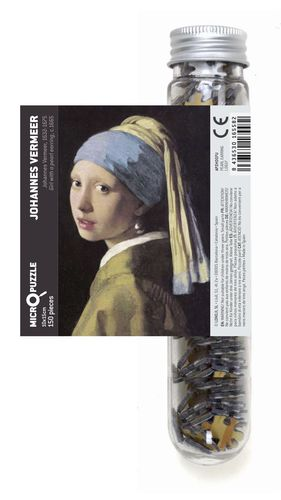 MICRO PUZZLE GIRL WITH A PEARL EARING (VERMEER)
