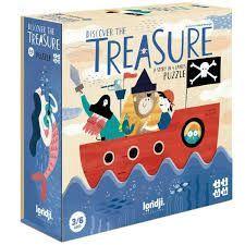 PUZZLE DISCOVER THE TREASURE