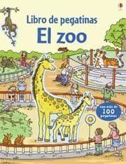 LIBRO DE PEGATINAS: EL ZOO