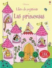 LIBRO DE PEGATINAS: LAS PRINCESAS