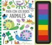 PINTA CON LOS DEDOS ANIMALES