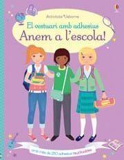 EL VESTUARI AMB ADHESIUS: ANEM A ESCOLA!