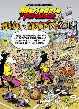 MORTADELO Y FILEMÓN: MUNDIAL BALONCESTO 2019