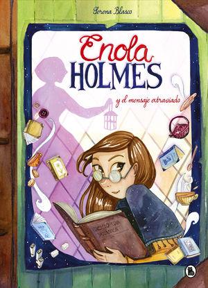 ENOLA HOLMES Y EL MENSAJE EXTRAVIADO (NOVELA GRÁFICA 5)