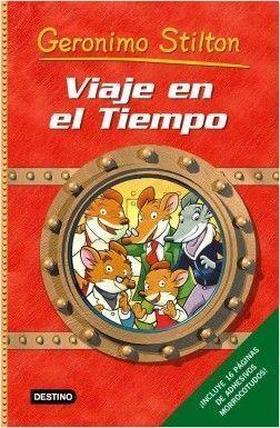TIEMPO GERONIMO STILTON: VIAJE EN EL TIEMPO 1
