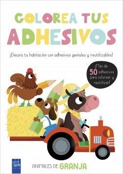 COLOREA TUS ADHESIVOS: ANIMALES DE GRANJA