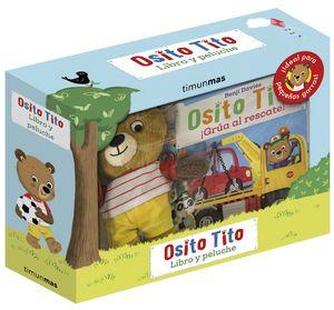 OSITO TITO. LIBRO Y PELUCHE