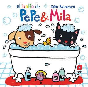 PEPE & MILA: LIBRO DE BAÑO DE PEPE & MILA