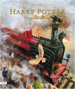 HARRY POTTER IL.LUSTRAT 1: I LA PEDRA FILOSOFAL