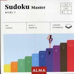 SUDOKU MASTER. NIVEL 7