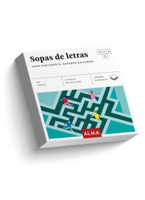 SOPAS DE LETRAS, PARA MANTENER EL CEREBRO EN FORMA
