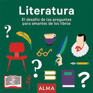 LITERATURA EL DESAFÍO DE LAS PREGUNTAS PARA AMANTES DE LOS LIBROS