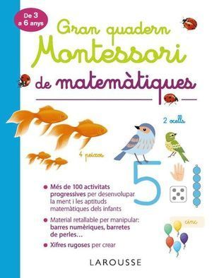 GRAN QUADERN MONTESSORI DE MATEMÁTIQUES