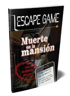 ESCAPE GAME: MUERTE EN LA MANSIÓN