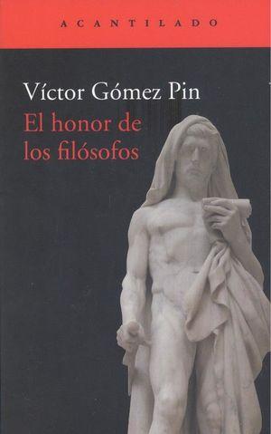 EL HONOR DE LOS FILÓSOFOS