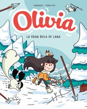 OLIVIA 3:  Y LA GRAN BOLA DE LANA