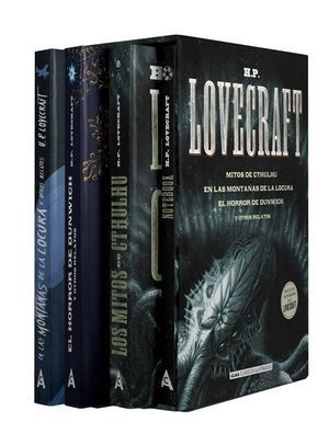 ESTUCHE - H.P. LOVECRAFT: 4 VOLUMENES