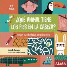 JUEGOS Y ACTIVIDADES PARA DIVERTIRSE ¿QUÉ ANIMAL TIENE LOS PIES EN LA CABEZA?