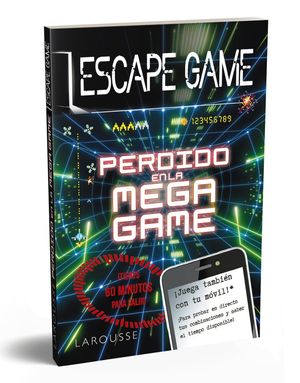 ESCAPE GAME: PERDIDO EN LA MEGA GAME