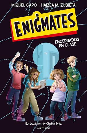 ENIGMATES ¡ENCERRADOS EN CLASE!