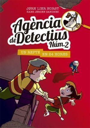 AGÈNCIA DE DETECTIUS [NÚM.2] 3: UN REPTE EN 24 HORES