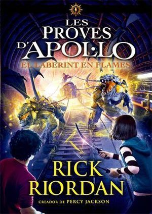 LES PROVES D'APOL·LO 3: EL LABERINT DE FLAMES
