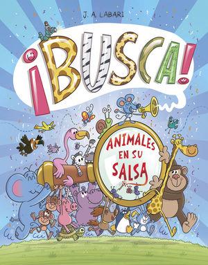 ¡BUSCA!: ANIMALES EN SU SALSA