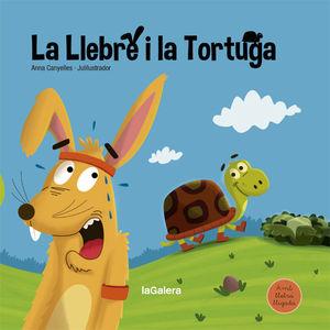LA LLEBRE I LA TORTUGA LLIGADA