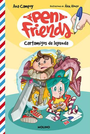 PEN FRIENDS 1: CARTAMIGOS DE LEYENDA