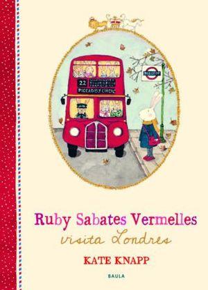 RUBY SABATES VERMELLES VISITA LONDRES