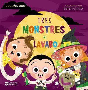 TRES MONSTRES AL LAVABO