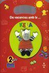 QUADERN DE VACANCES AMB LA KELA (2 ANYS)