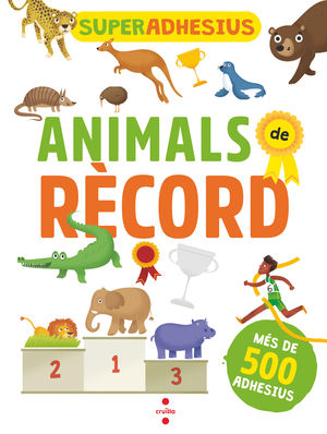 SUPERADHESIUS ANIMALS DE RECORD