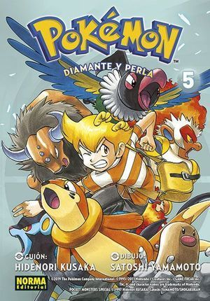POKÉMON 21: DIAMANTE Y PERLA 5