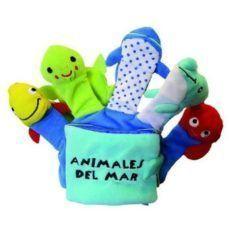 LIBRO GUANTE: ANIMALES DEL MAR