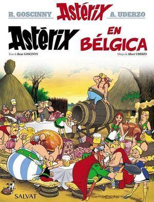 ASTÉRIX 24: EN BÉLGICA