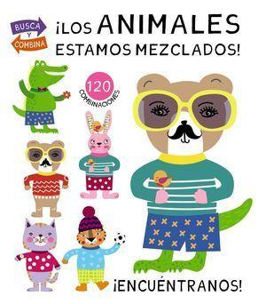 ¡LOS ANIMALES ESTAMOS MEZCLADOS!