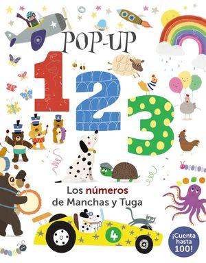 POP-UP 123: LOS NÚMEROS DE MANCHAS Y TUGA